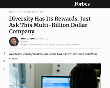 Graham Clempson Speaks to Forbes: Diversity Has Its Rewards. Just Ask This Multi-Billion Dollar Company
